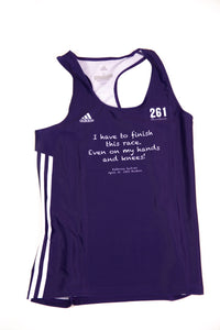 Fearless Finisher Singlet in Purple