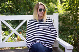 Stripe Nursing Cover