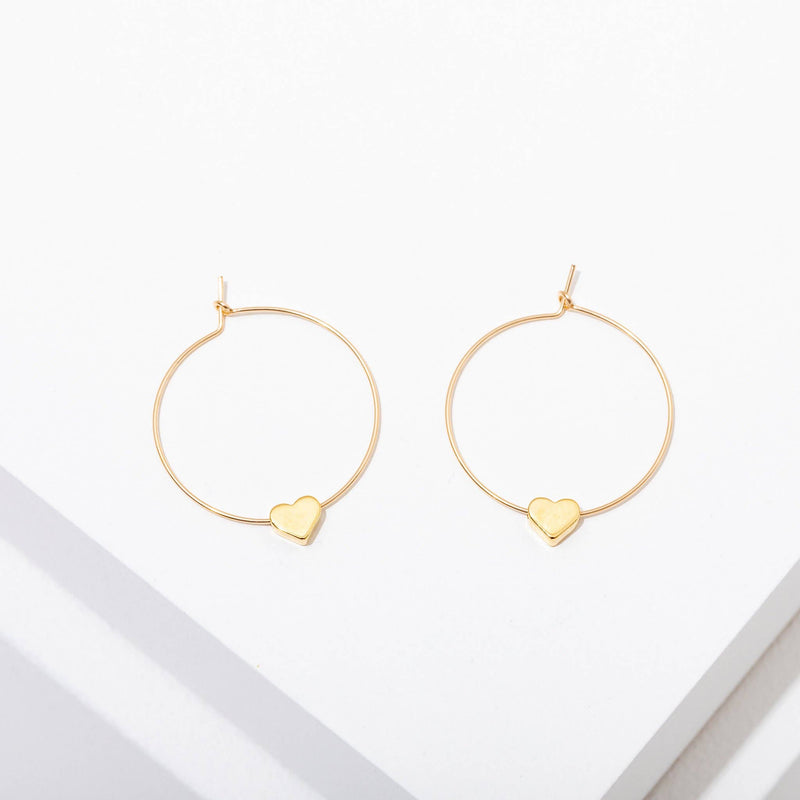 Larissa Loden Jewelry - Heart Earrings