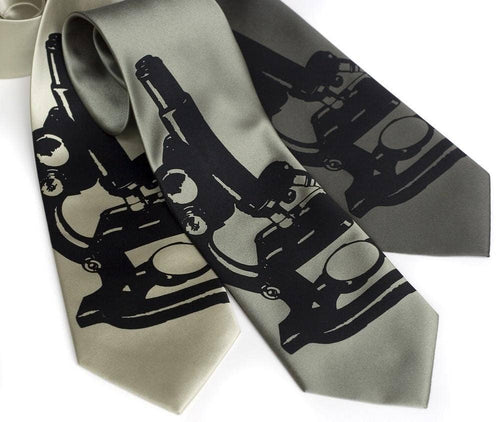 Cyberoptix Tie Lab - Microscope Necktie, Science Affair Tie
