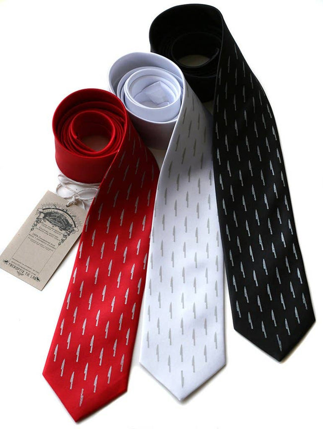 Cyberoptix Tie Lab - Kitchen Knife Necktie, Sharp Dressed Tie