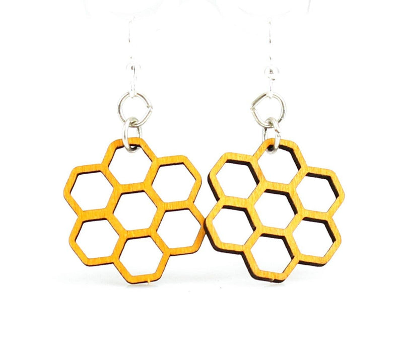Green Tree Jewelry - Honeycomb Blossoms Earrings