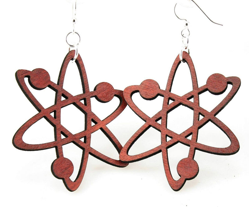 Green Tree Jewelry - Atom Earrings