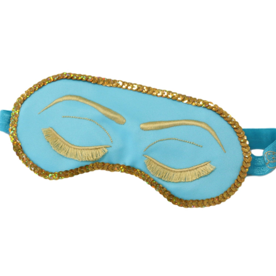The Sleepy Cottage - Sparkling Holly Golightly Sleep Mask