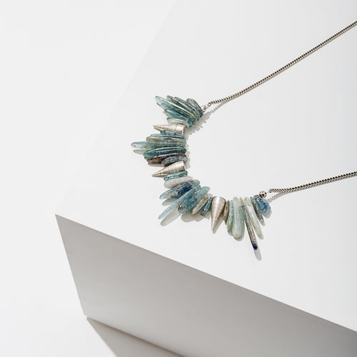 L. Loden Jewelry - Kyanite Spike Necklace