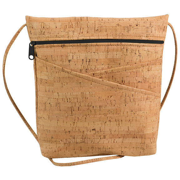 Natalie Therese - Be Lively 3 Criss-Cross Pocket Body Bag | All Cork