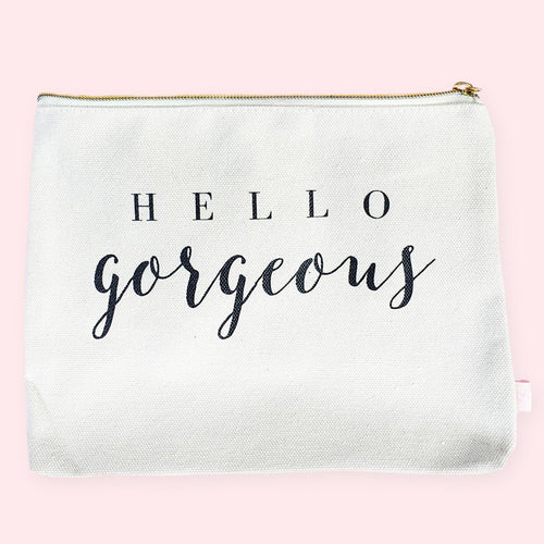 Sweet Water Decor - Hello Gorgeous Makeup Bag