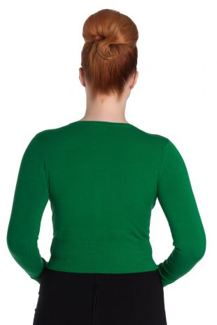 Classic 50's Cardigan in Green