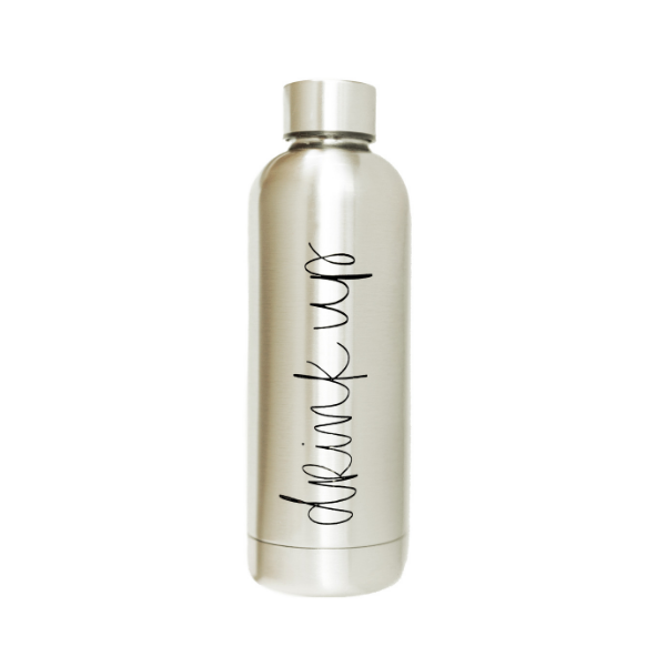 Sweet Water Decor - Drink Up Metal Water Bottle