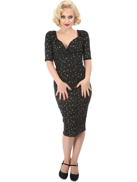 Atomic Star Magical Stretch Pencil Dress