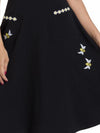 Bee Swing Dress with Daisy Chain Trim