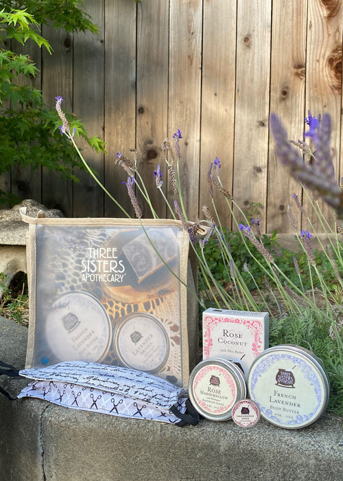 Take Care Pack (Skin Care): 2 Cotton Masks + Soap Cauldron Self-Care Essentials
