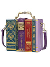 Books Shaped Bag by Vendula London