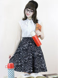 Chemistry A-line Skirt with pockets