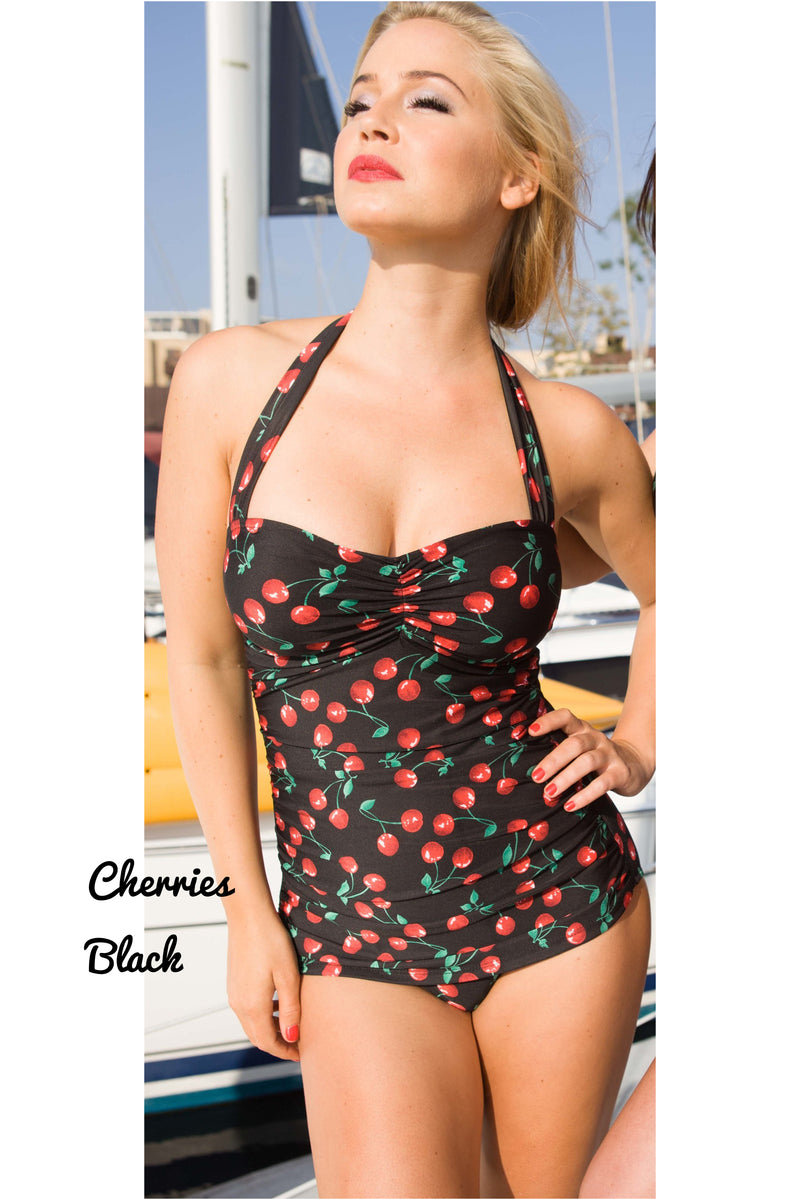 Cherry Classic sheath swimsuit (made in USA)