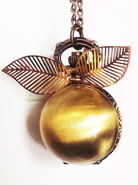 The Golden Snitch Pocketwatch Necklace