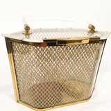 Vintage 1950's Lucite Bag by Majestic