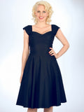 Mad Style Swing Dress -Navy