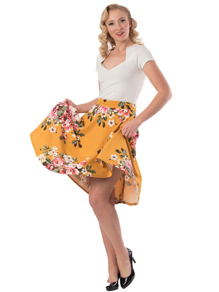 Don't Judge a Book by its Cover A-line Skirt with pockets