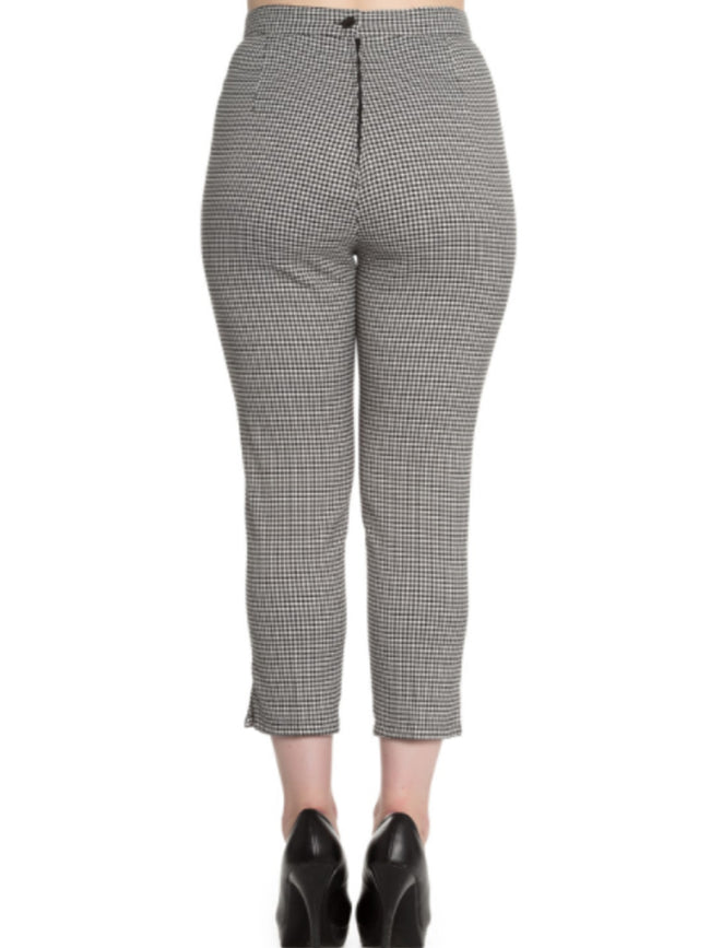 Houndstooth Parker Trousers