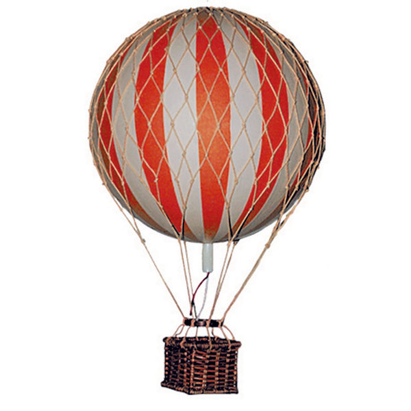 Hot Air Balloon Model Mobile (5 Small primary colors)