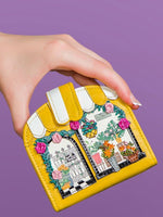 Vendula London Flower Shop Clipper coin and card wallet