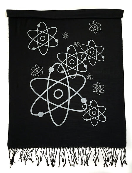 "Cyberoptix Tie Lab - Honey Bee Scarf. ""Oh Honey!"" Pashmina"
