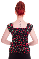 Cherry Pop Pinup Top