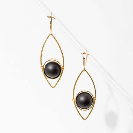 L. Loden Jewelry - Georgia Earrings (more stones available)