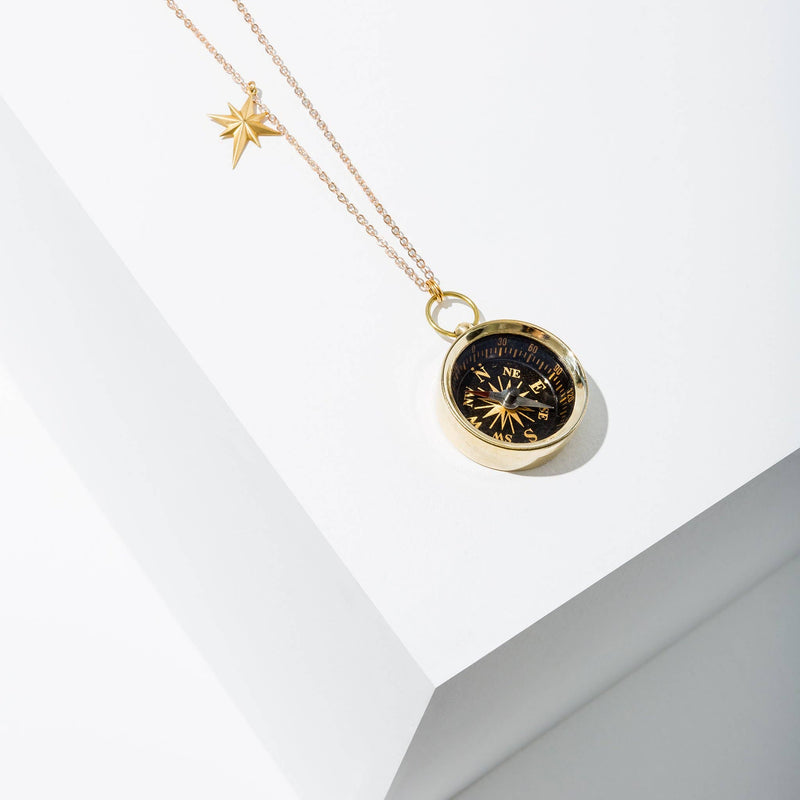 Larissa Loden Jewelry - Compass Necklace