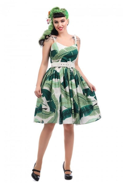 Banana Leaf Tiki Dress