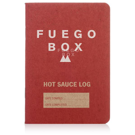 Fuego Box Hot Sauce Tasting Booklet