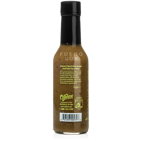 CaJohns Fiery Foods Co. Serrano Hot Pepper Sauce
