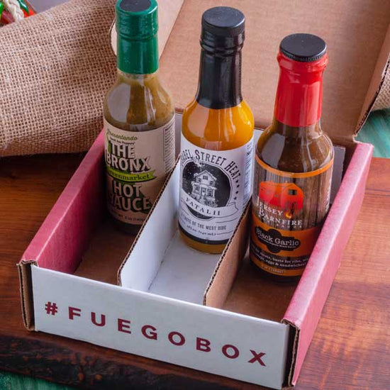 3-Bottle Quarterly Hot Sauce Subscription Pay As You Go
