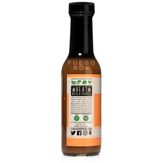 Clark and Hopkins Kerala Hot Sauce