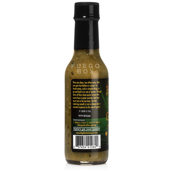 Bigfat's Sea of Green Verde Hot Sauce