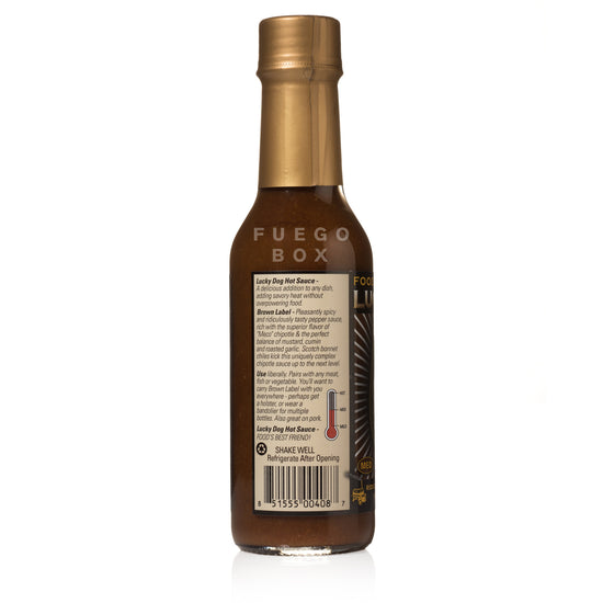 Lucky Dog Brown Label Hot Sauce