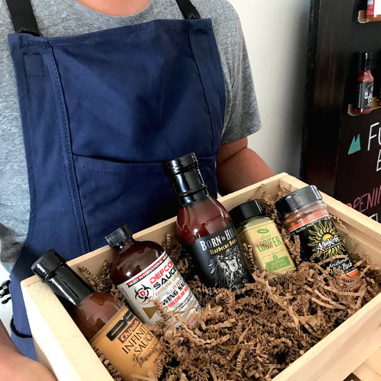 Blazing BBQ Box - Spicy Barbecue Gift Set