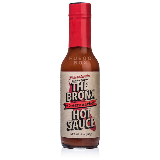 Bronx Greenmarket Hot Sauce (Red)