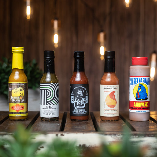 All-Star Crate - Hot Sauce Gift Set