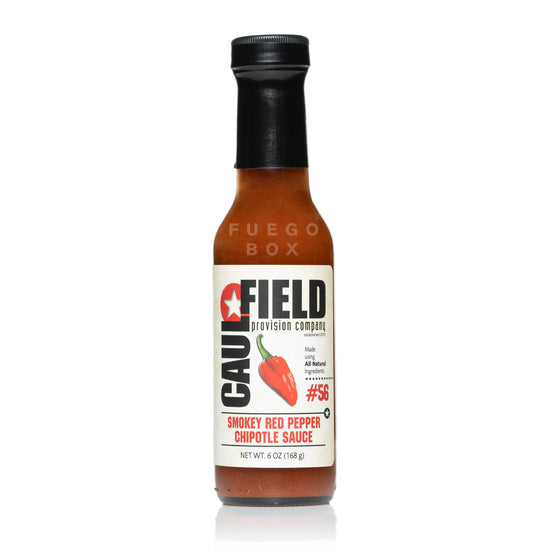 Caulfield Provision Co. #56 Smokey Red Pepper Chipotle Hot Sauce