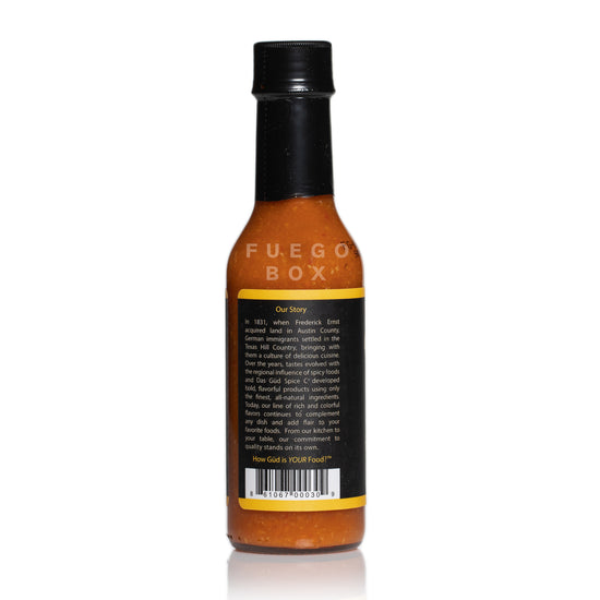 Das Gud Spice Co Garlic Habanero Hot Sauce