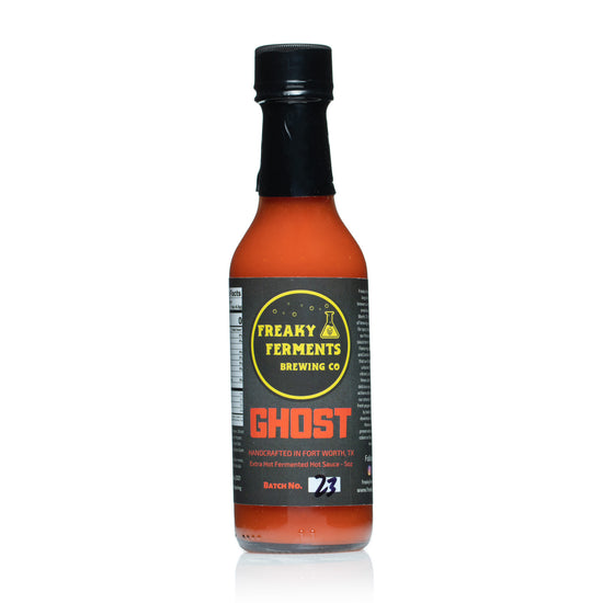 Freaky Ferments Ghost Hot Sauce
