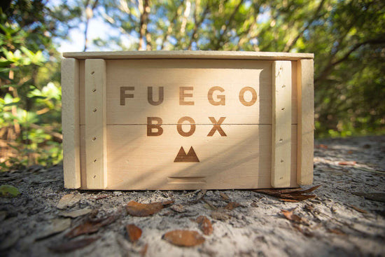 Fuego Eco Crate | 5 Trees Planted Per Gift Set