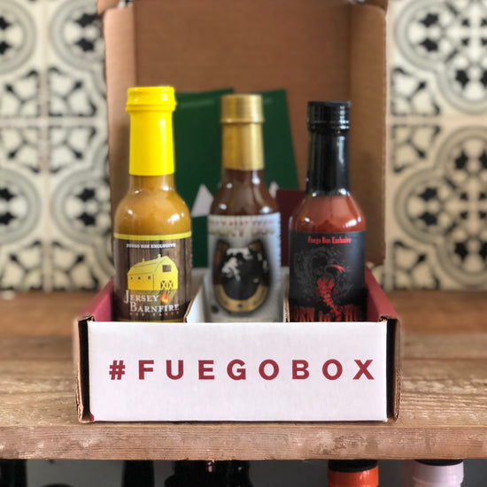 All-Fuego Exclusive 3-Bottle Hot Sauce Gift Set