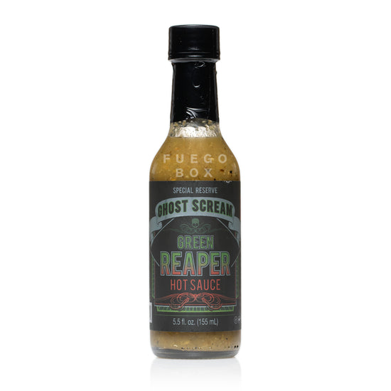 Ghost Scream Green Reaper Hot Sauce