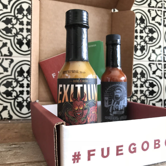 2-Bottle Monthly Extra Hot Sauce Subscription Prepay 6 Months