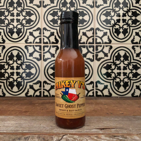 Mikey V's Sweet Ghost Pepper Hot Sauce