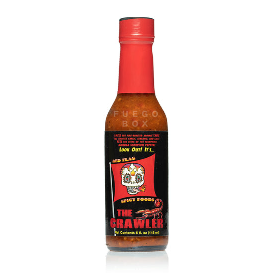 Red Flag Spicy Foods The Crawler Hot Sauce