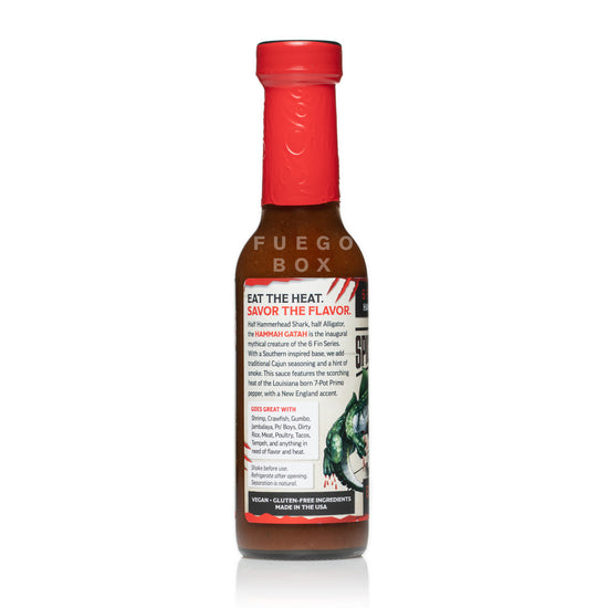 Spicy Shark Hammah Gatah Hot Sauce